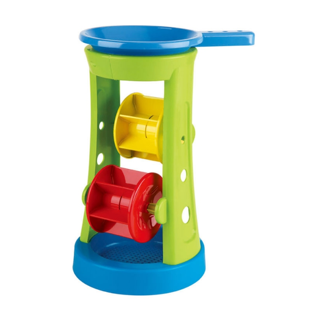 Hape - Double Sand and Water Wheel