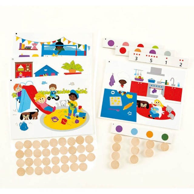 Hape - Find and Count Colors