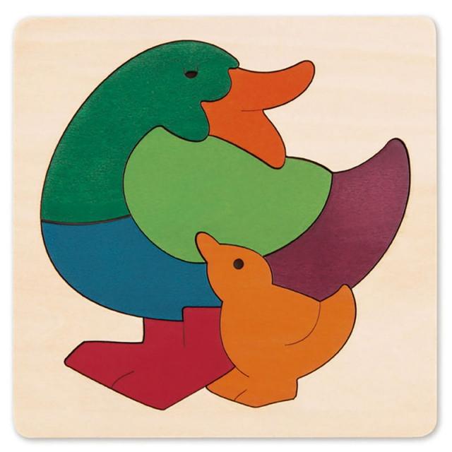 Hape - Rainbow Duck