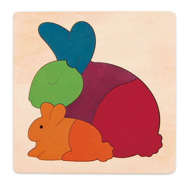 Hape - Rainbow Rabbit