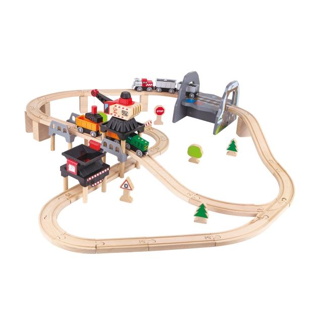 Hape - Lift & Load Mining Play Set