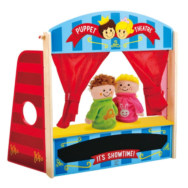 Hape - Puppet Playhouse