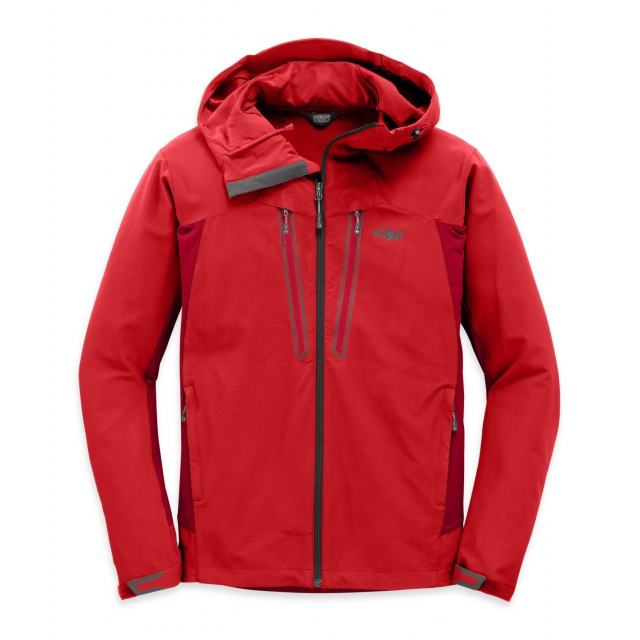 Outdoor Research - Men's Ferrosi Summit Hooded Jacket