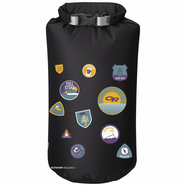 Outdoor Research - Graphic Dry Sack 20L Merit Badges