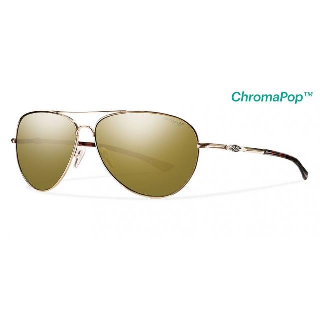 d5410d01e1 Smith Optics   Audible Gold ChromaPop+ Polarized Bronze Mirror