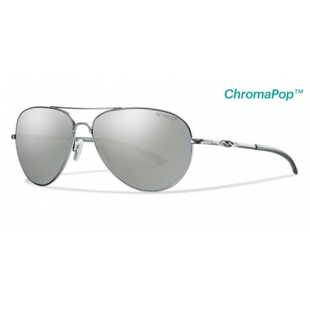 Smith Optics - Audible Matte Silver ChromaPop+  Polarized Platinum