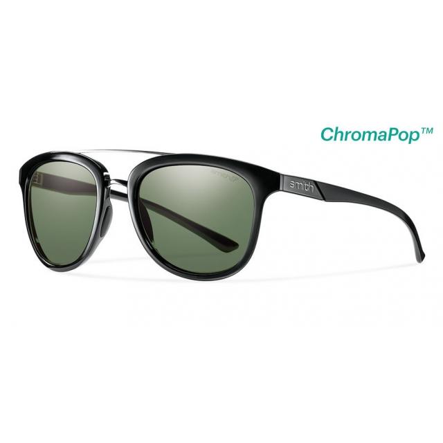 Smith Optics - Clayton Black ChromaPop+  Polarized Gray Green