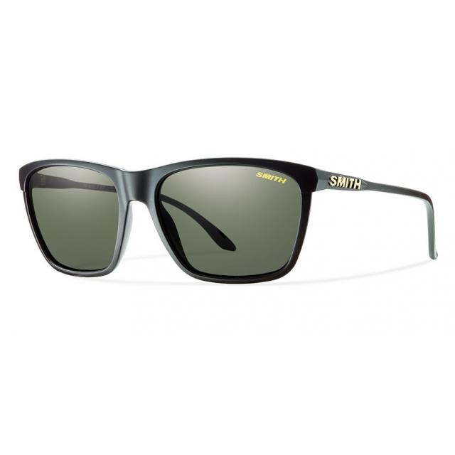 Smith Optics - Delano Matte Black Polarized Gray Green