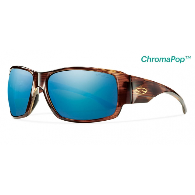 ee5c9a8f37 Smith Optics   Dockside Havana ChromaPop+ Polarized Blue Mirror