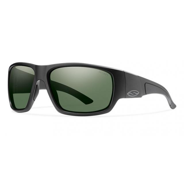 Smith Optics - Dragstrip Matte Black Polarized Gray Green