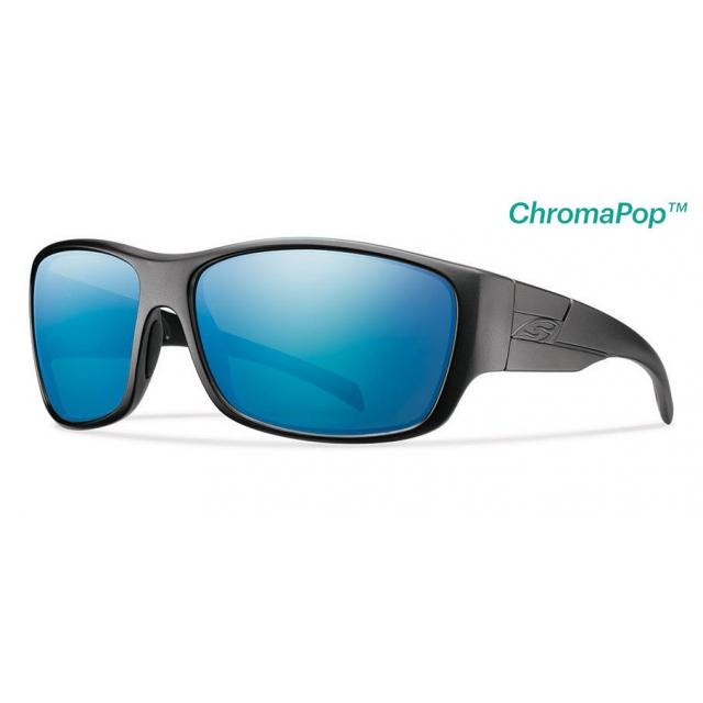 Smith Optics - Frontman Elite Black ChromaPop +  Elite Polarized Blue Mirror