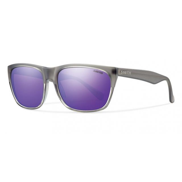 Smith Optics - Tioga Smoke Split Purple Sol-X Mirror