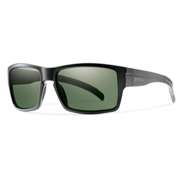 Smith Optics - Outlier XL Matte Black Polarized Gray Green