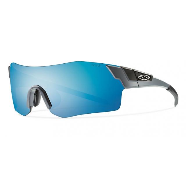 Smith Optics - PivLock Arena Matte Cement Blue Sol-X Mirror