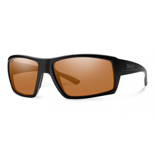Smith Optics - Challis Matte Black ChromaPop Polarized Copper