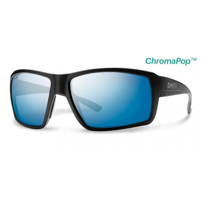 Smith Optics - Colson Matte Black ChromaPop+  Polarized Blue Mirror