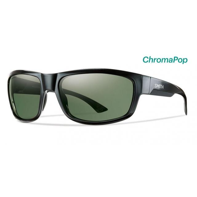 Smith Optics - Dover Black ChromaPop Polarized Gray Green