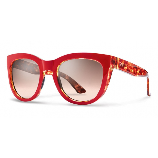 Smith Optics - Sidney Red Tortoise Sienna Gradient