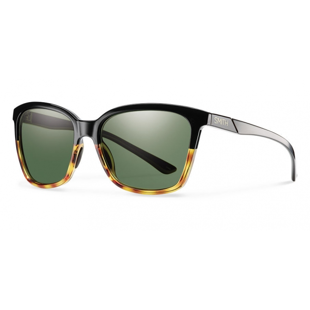 199f87cb5a Smith Optics   Colette Black Fade Tortoise Polarized Gray Green
