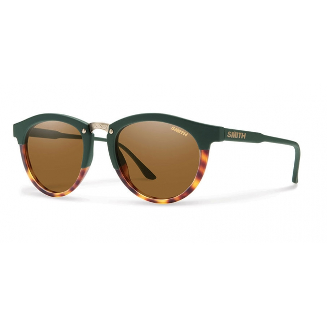 Smith Optics - Questa Olive Tortoise Polarized Brown