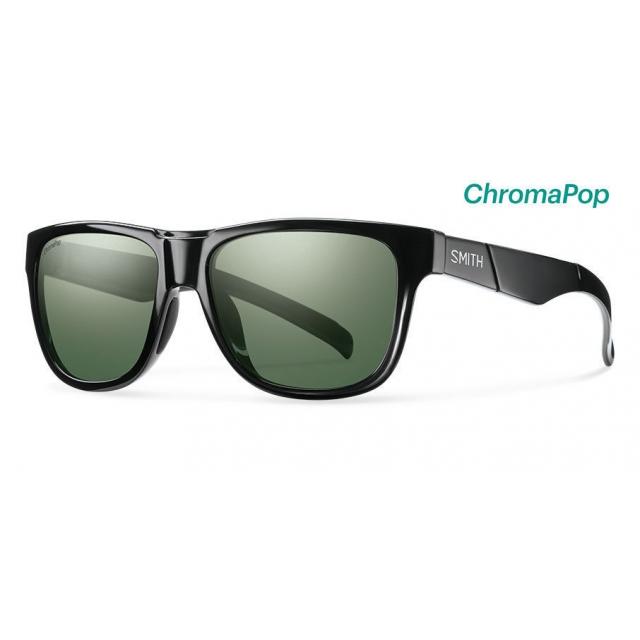 Smith Optics - Lowdown Slim Black ChromaPop Polarized Gray Green