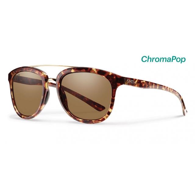 Smith Optics - Clayton Yellow Tortoise ChromaPop Polarized Brown
