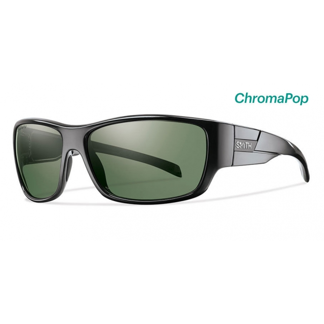 c10fae0c320 Smith Optics   Frontman Black ChromaPop Polarized Gray Green