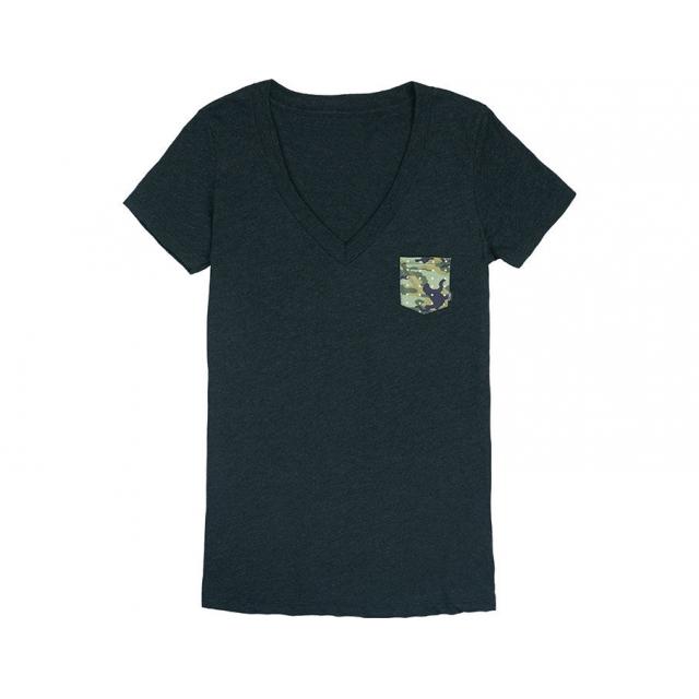 Smith Optics - Carnival Women's T-Shirt Vintage Black with Dot Camo Large
