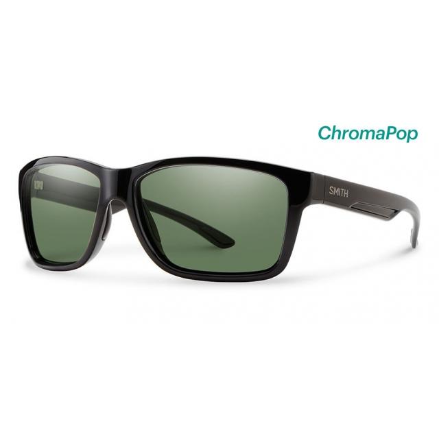 Smith Optics - Drake Black ChromaPop Polarized Gray Green