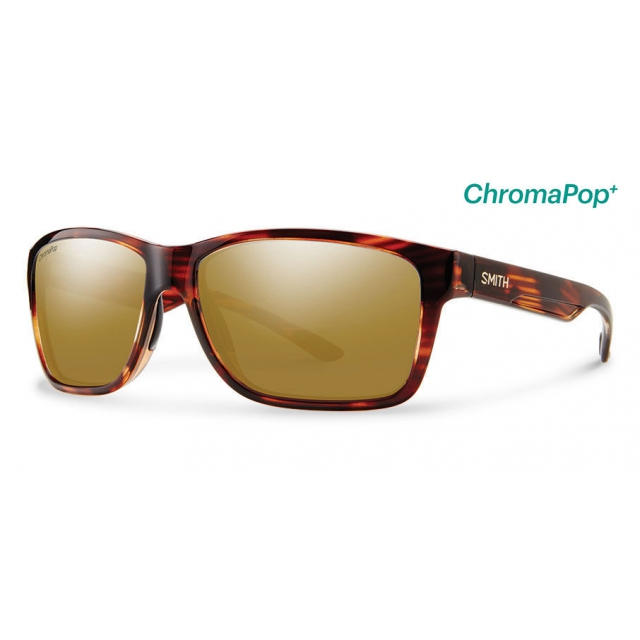 Smith Optics - Drake Tortoise ChromaPop+  Polarized Bronze Mirror