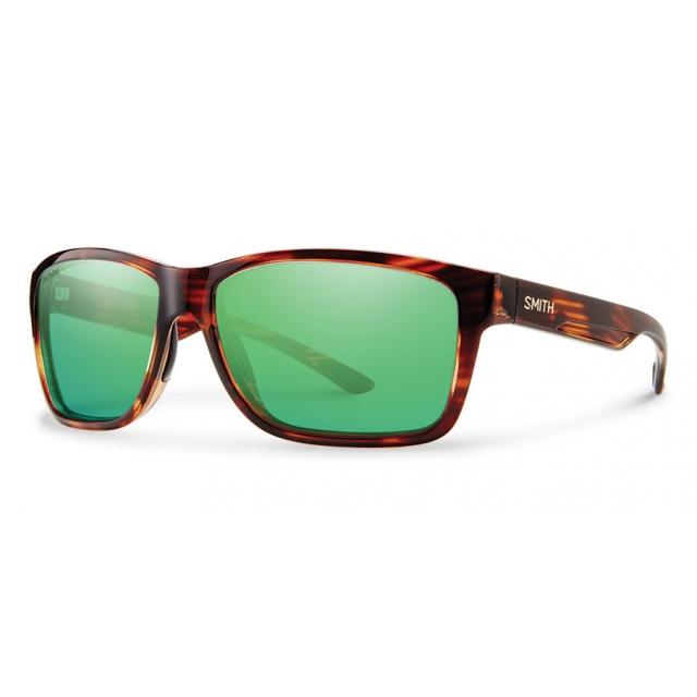 aea46af3247 Smith Optics   Drake Tortoise Techlite Polarized Green Mirror