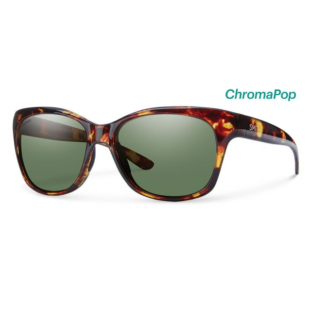 Smith Optics - Feature Tortoise ChromaPop Polarized Gray Green