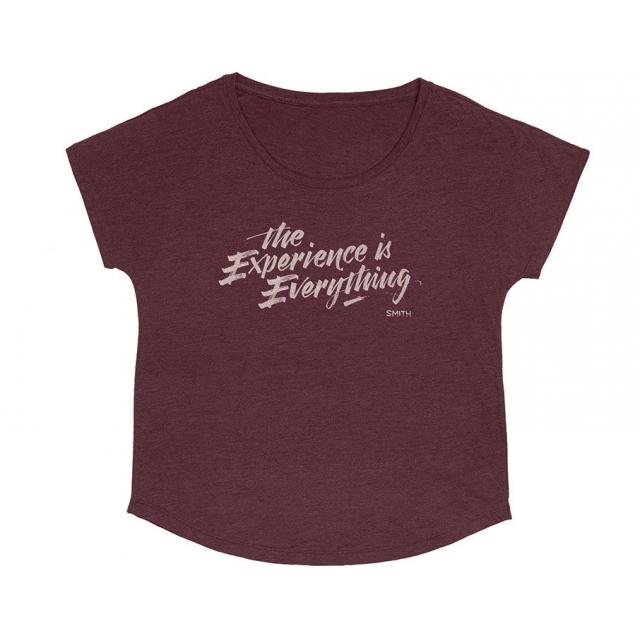 Smith Optics - Gemma Women's T-Shirt Maroon Medium