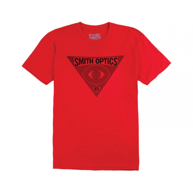 Smith Optics - Insomniac Mens Classic Tee Red Extra Extra Large