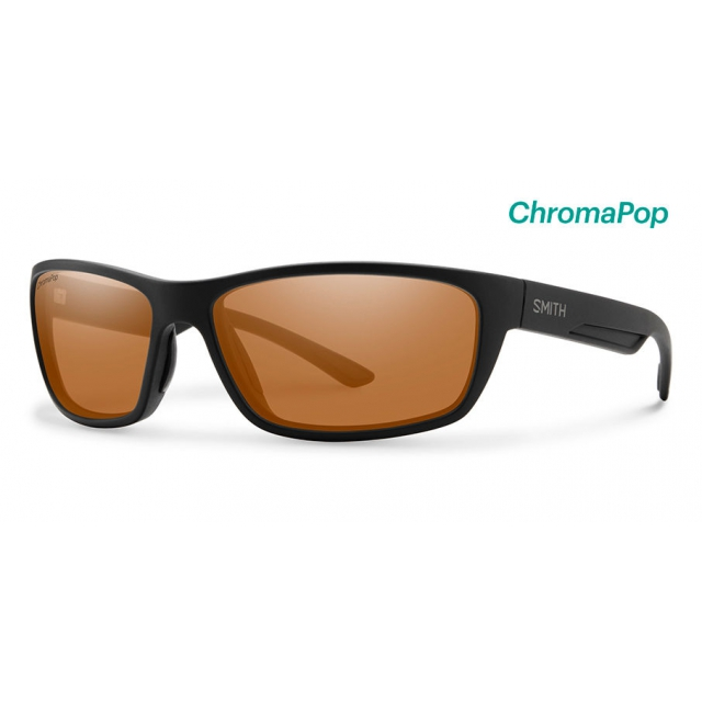 Smith Optics - Ridgewell Matte Black ChromaPop Polarized Copper