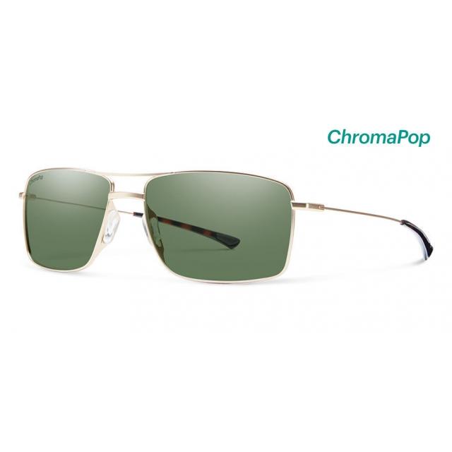 Smith Optics - Turner Matte Gold ChromaPop Polarized Gray Green