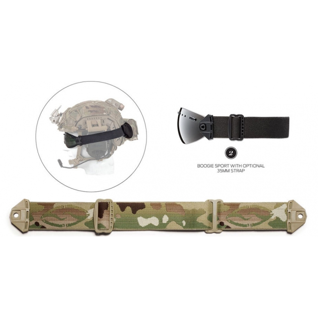 Smith Optics - Boogie Sport 35MM Strap Multicam