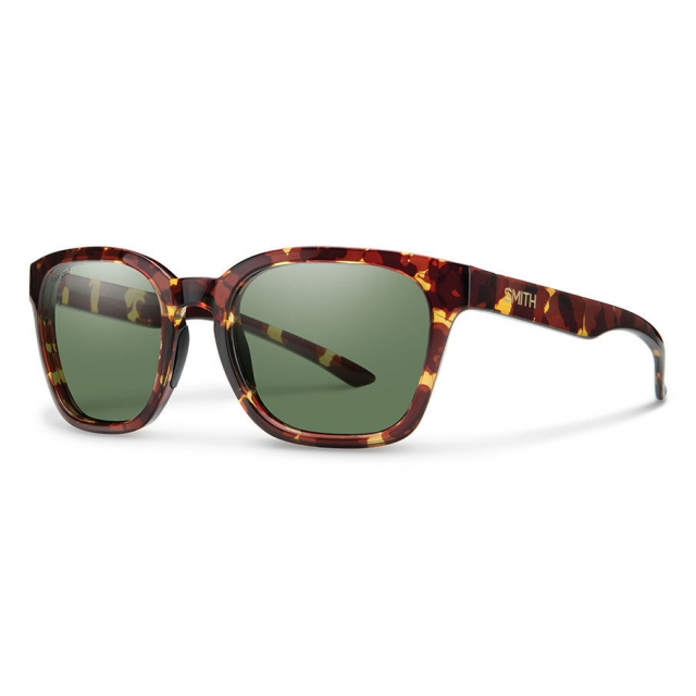 Smith Optics - Founder Slim Tortoise Polarized Gray Green
