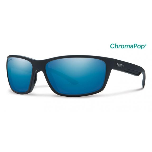 Smith Optics - Redmond Matte Black ChromaPop+  Polarized Blue Mirror