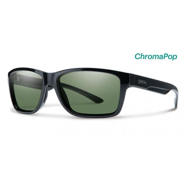 Smith Optics - Wolcott Black ChromaPop Polarized Gray Green