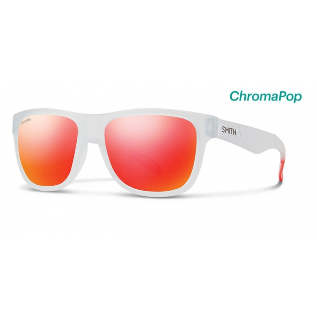 8a21f7960f Smith Optics   Lowdown Slim Matte Crystal Red ChromaPop Sun Red Mirror