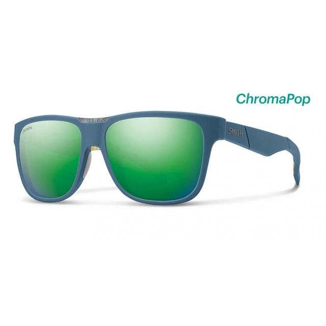f19c9cf442 Smith Optics. Lowdown Matte Corsair Ripped ChromaPop Sun Green Mirror