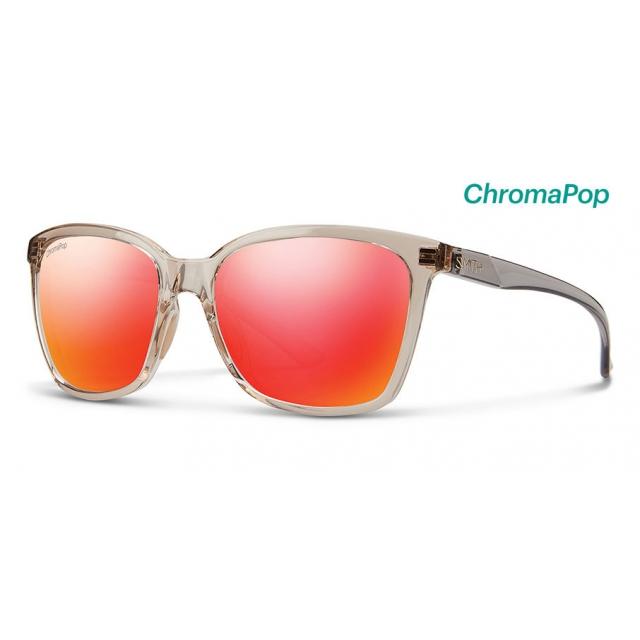 fa9f01c0c4 Smith Optics   Colette Desert Crystal Smoke ChromaPop Sun Red Mirror