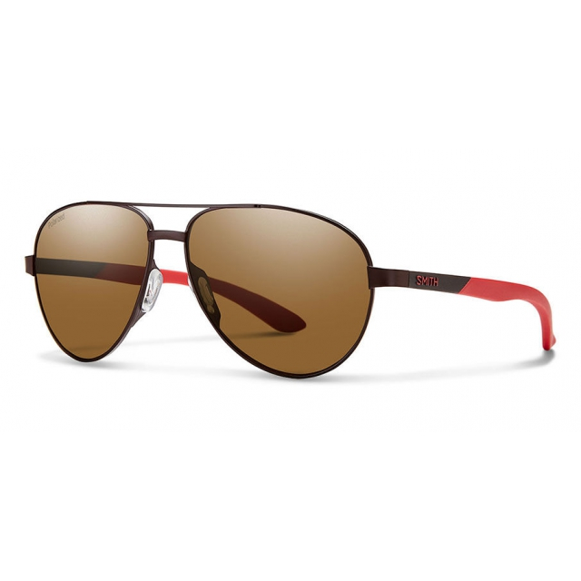 Smith Optics - Salute Matte Brown Polarized Brown