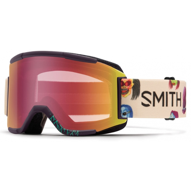 Smith Optics - Squad Shadow Purple Creature Red Sensor Mirror