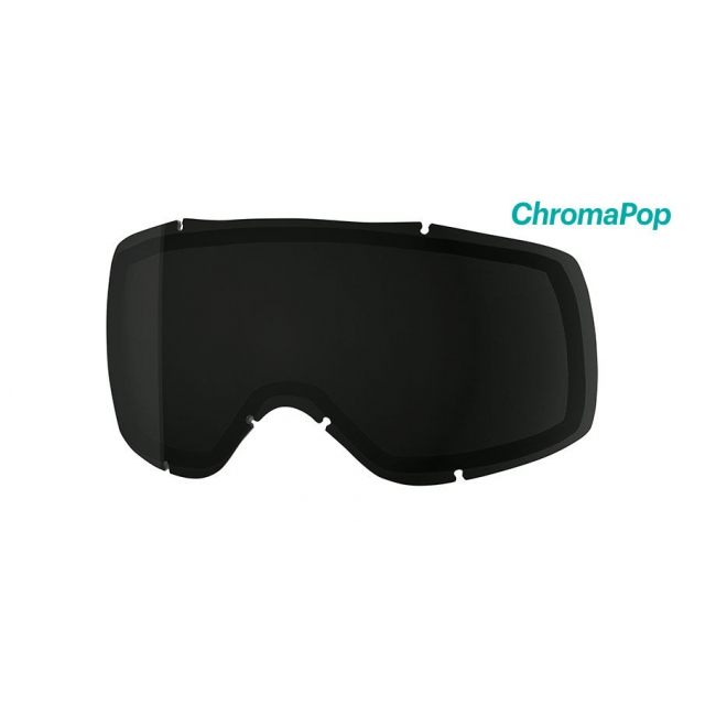 Smith Optics - Showcase OTG Replacement Lens Showcase OTG ChromaPop Sun Black