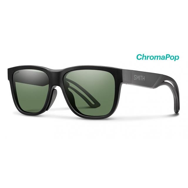 24d6da3f32 Smith Optics   Lowdown Focus Slim Matte Black ChromaPop Gray Green