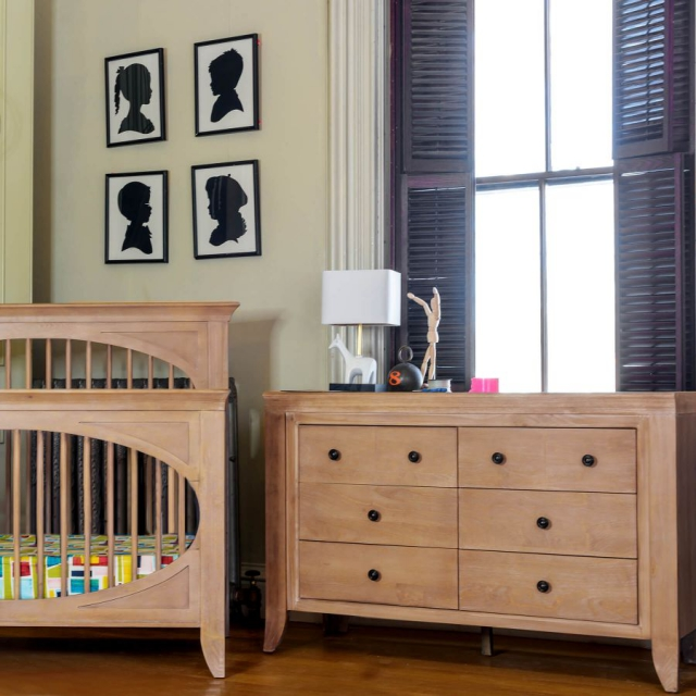 Milk Street Baby - Cameo 6 Drawer Double Dresser