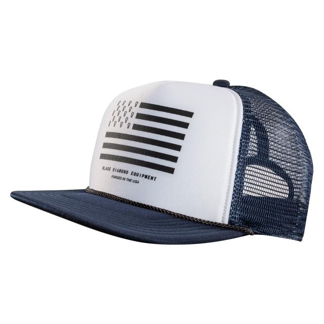 Black Diamond - Flat Bill Trucker Hat