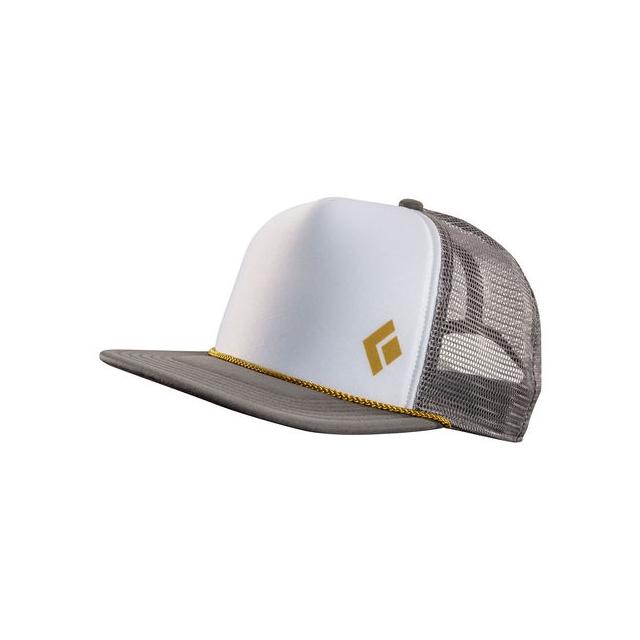 74797f5438bb7 Black Diamond   Flat Bill Trucker Hat